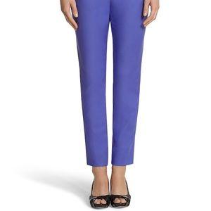 White House Black Market Purple Perfect Form Pants